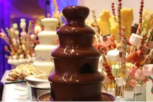 Como preparar chocolate para fuente sin aceite