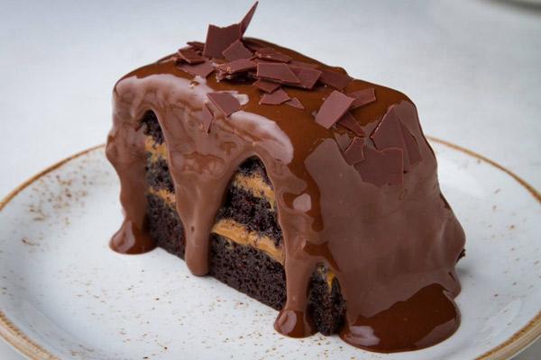 torta de chocolate de El Bodegón