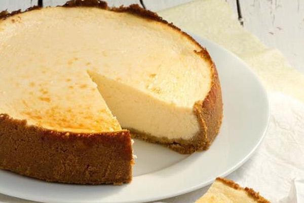 Receta del pie de queso crema