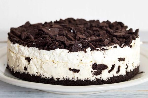 Receta de Cheesecake de Oreo